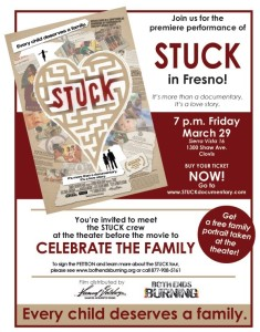 STUCK Documentary Local Premiere One Night Only @ Sierra Vista 16 | Clovis | California | United States