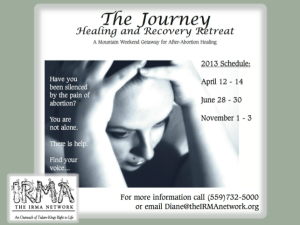 After-Abortion Healing Retreat @ Secluded Mountain Getaway | California | United States