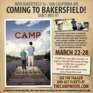 CAMP Movie Premiere @ Maya Cinemas - Bakersfield 16 | Bakersfield | California | United States