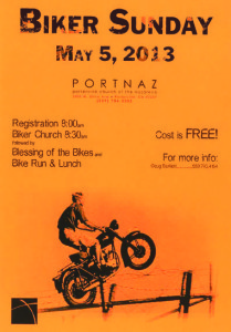 Biker Sunday @ Port Naz (Porterville Church of the Nazarene) | Porterville | California | United States
