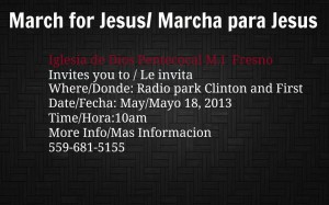 March for Jesus @ Radio Park | Fresno | California | United States