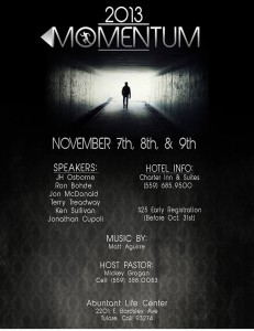 MoMENtum Mens Conference @ Abundant Life Center | Tulare | California | United States