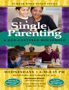 Single Parenting 10 Week Bible Study @ Northwest Church | Fresno | California | United States