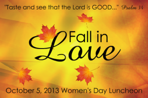 "Women's Day Luncheon: ""Fall in Love"" @ Sumtin Ta Eat Christian Lounge 