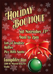 Holiday Boutique @ Lampliter Inn | Visalia | California | United States