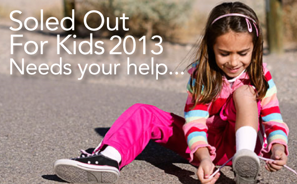 Soled Out For Kids