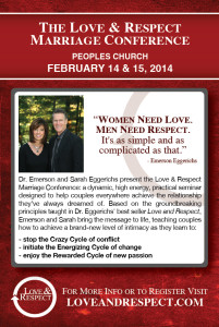 Love & Respect LIVE Marriage Conference @ Peoples Church | Fresno | California | United States