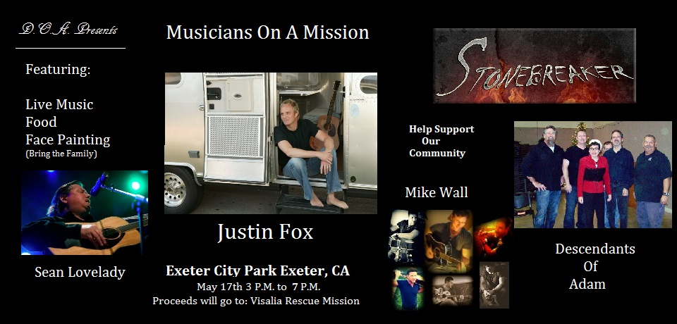 Musicians on a Mission @ Exeter City Park | Exeter | California | United States