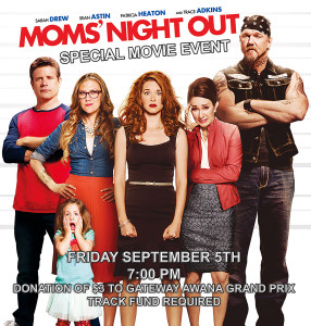 Mom's Night Out Movie Event @ GateWay Church | Visalia | California | United States