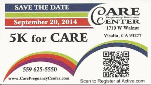1st Annual 5K for CARE!!!! @ Cutler Park - St.Johns Parkway | Visalia | California | United States