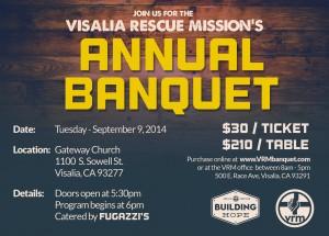 VRM Annual Banquet @ Gateway Church | Visalia | California | United States