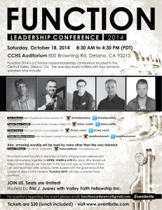 Function Leadership Conference @ CCHS Auditorium  | Delano | California | United States