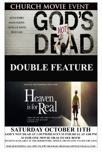 Heaven is for Real Movie Event / Double Feature @ GateWay Church | Visalia | California | United States