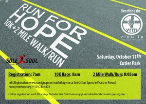 VRM's Run for Hope! @ Cutler Park | Visalia | California | United States