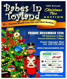 Visalia Chamber of Commerce Christmas Tree Auction @ Visalia Convention Center | Visalia | California | United States