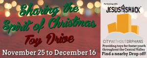 Spirit Toy Drive Meet up! @ Majesty Bible and Gift | Visalia | California | United States