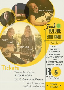 Feed Our Future Benefit Concert @ Tower Theater - Fresno