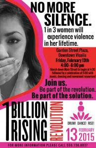 One Billion Rising 2015 @ Garden Street Plaza | Visalia | California | United States