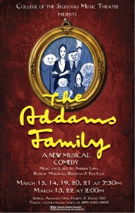 COS Musical The Addams Family @ College of the Sequoias Theatre | Visalia | California | United States
