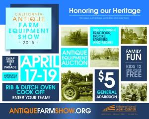 California Antique Farm Equipment Show @ International Agri-Center | Tulare | California | United States