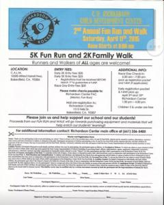 CW Richardson Center 5 K Fun Run @ CALM California Living Museum   Bakersfield   California   United States