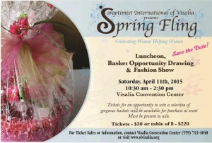 6th Annual Spring Fling! @ Visalia Convention Center   Visalia   California   United States