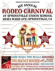 Rodeo Carnival @ Springville Union School | Springville | California | United States