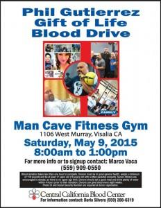 Gift of Life Blood Drive @ Man Cave Fitness | Visalia | California | United States