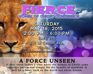 Fierce Women of God Conference @ Cafe 210 | Visalia | California | United States