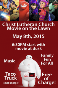 Movie on the Lawn! @ Christ Lutheran Church | Visalia | California | United States