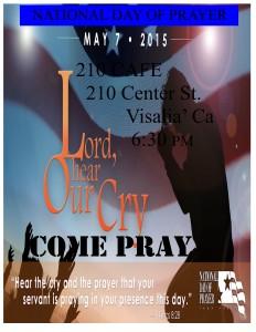 Pray for the Nation @ CAFE 210 | Visalia | California | United States