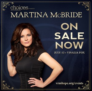 Martina McBride @ Visalia Fox Theatre | Visalia | California | United States