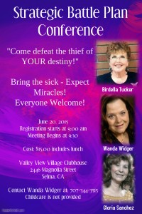 Stragetic Battle Plan Conference @ Valley View Village Clubhouse | Selma | California | United States