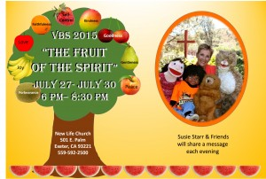 Fruit of the Spirit VBS @ New Life  | Exeter | California | United States