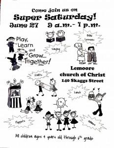 Super Saturday @ Lemoore Church of Christ | Lemoore | California | United States