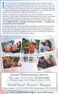 38th Annual WorldTouch Partners Banquet @ Gateway Church | Visalia | California | United States
