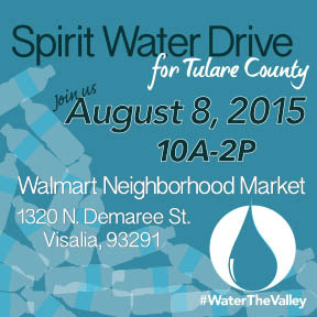 #WaterTheValley Drive for Visalia! @ Walmart Neighborhood Market | Visalia | California | United States