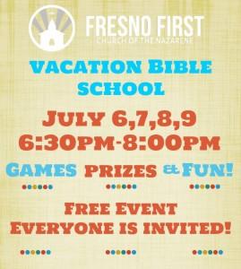 VBS @ Fresno First Church of the Nazarene | Fresno | California | United States