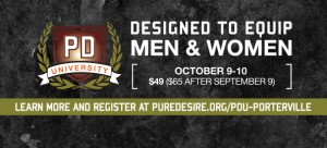 Pure Desire University @ Porterville Church of the Nazarene | Porterville | California | United States