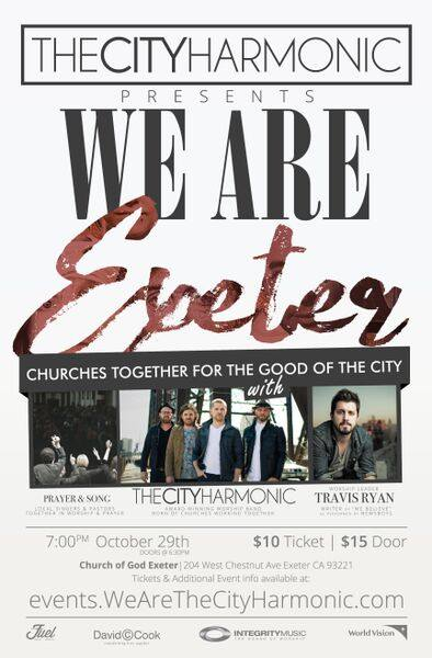 We Are Exeter (The City Harmonic) @ Church of God Exeter | Exeter | California | United States