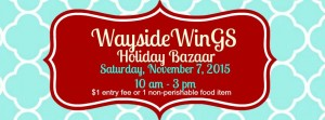 WinGS Holiday Bazaar @ Tulare Wayside Church of the Nazarene | Tulare | California | United States