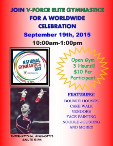 National Gymnastics Day @ V-FORCE Elite Gymnastics | Madera | California | United States
