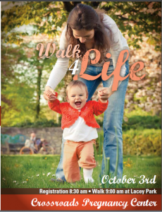 Crossroads Pregnancy Center 2015 Walk for Life! @ Lacey Park | Hanford | California | United States