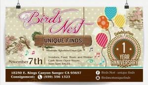 Birds Nest 1 Year Celebration! @ Birds Nest Unique Finds  | Sanger | California | United States