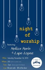 Night of Worship @ 210 Cafe | Visalia | California | United States