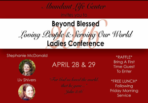 Beyond Blessed Ladies Conference @ Abundant Life Center | Tulare | California | United States