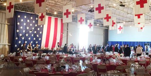 Heroes for the American Red Cross @ Landmark Aviation Hangar | Fresno | California | United States