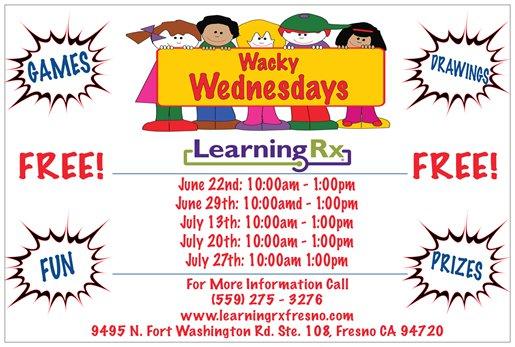 Wacky Wednesdays @ LearningRx | Fresno | California | United States