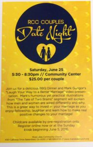 Date Night & Dinner @ RiverLakes Community Church | Bakersfield | California | United States
