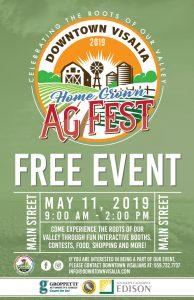 Home Grown Ag-Festival @ Downtown Visalia
